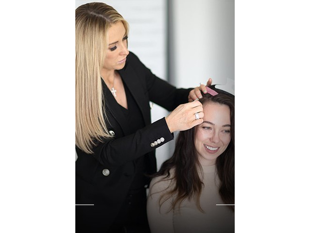 Hair Extensions in Salon - 3