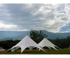 Got an Event? Get Unique And stylish Star Shade Marquee