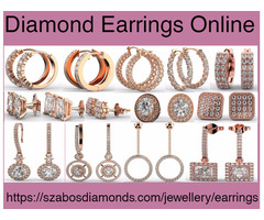 Buy Unique Diamond Earrings Online For Special Occasion