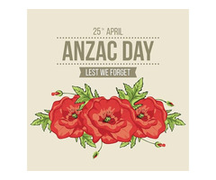 ANZAC day in Brisbane to the Gold Coast
