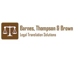 Barnes, Thompson & Brown