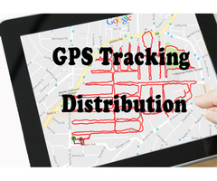 Flyer Distribution Services with GPS System Lowest Prices