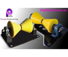 V Pipe Roller Stand and Pipe Stand by Pipestand.com.au