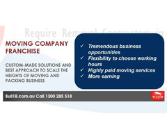 House Removalists and Truck Owners-Open Moving Company Franchise