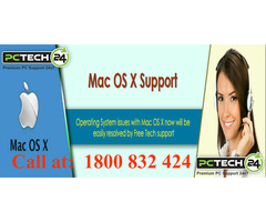 Call at 1800 832 424 for Mac Technical Support