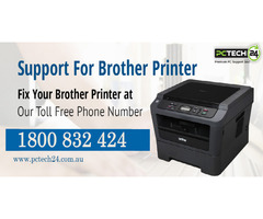 Call on 1800-832-424 for Brother Printer Tech Support