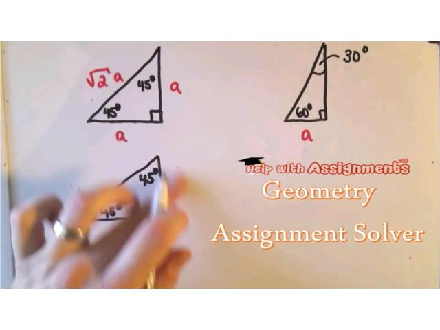 Solve Geometry Assignment Online by Top Experts - 1
