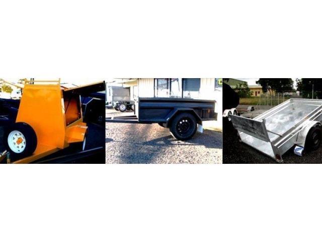 Custom Motorbike Trailer - Rutherford Trailers & Towbars - 1