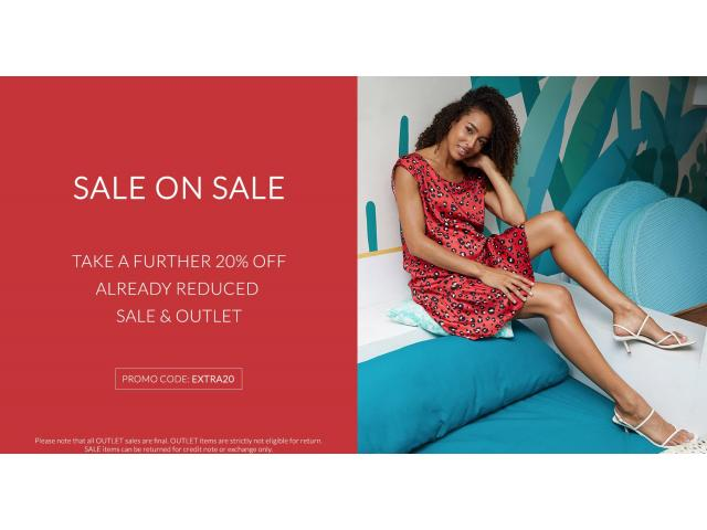 Get 20% Off Already Reduced Sale & Outlet Products at Soon Maternity - 1