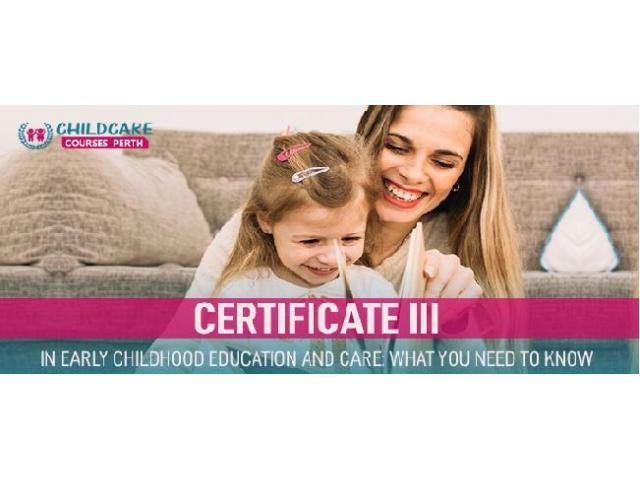Enroll for certificate 3 in childcare and uplift your career. - 1