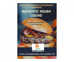 Dine-In Indian Restaurant Brisbane |  Real Indian Flavours  |  Evening In India - Image 7