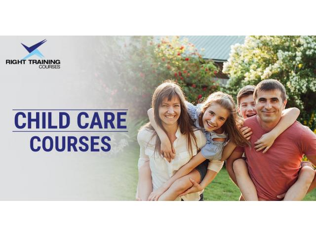 Love to stay with kids, change into career by joining childcare courses. - 1
