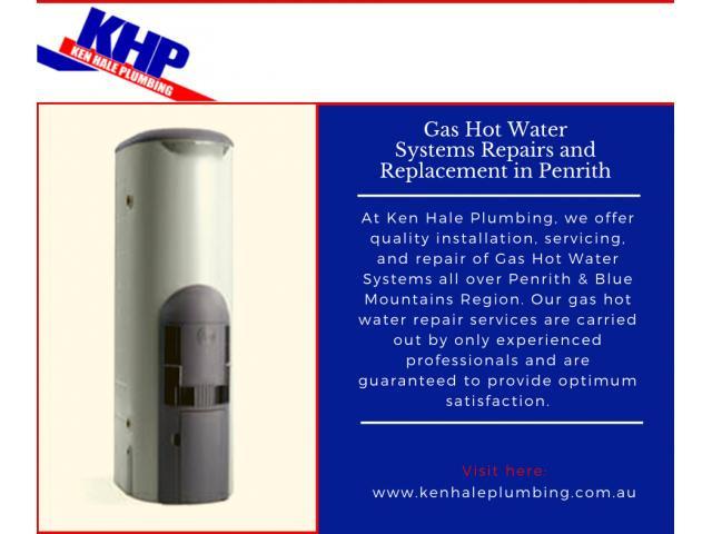 Gas Hot Water Replacement in Penrith | Ken Hale Plumbing - 1