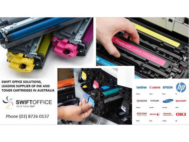 Best Ink Toner Cartridges  |  Swift Office Solutions - 2