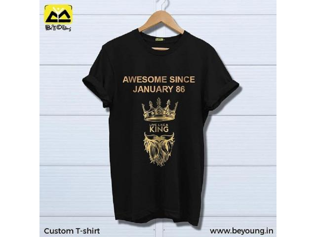 Grab Custom T Shirt For Men & Women at Beyoung - 1