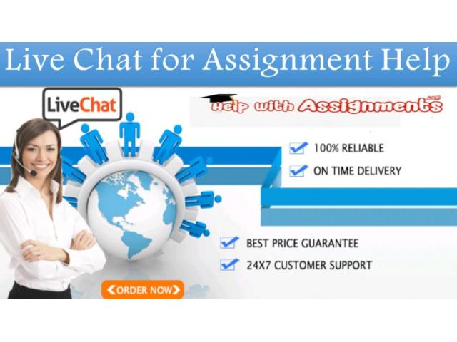 Live Chat for Assignment Help Online Are 24/7 Available - 1
