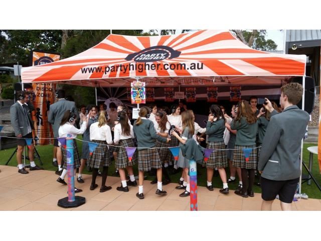 Hire Silent Disco for your school Fundraiser - 1