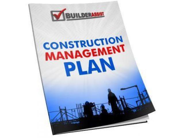 Construction Management Plan (CMP) – Download CMP Templates - 1