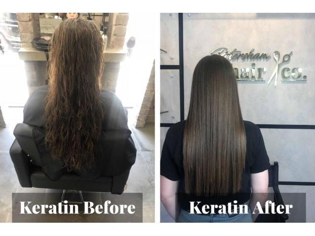 Treat Hair Damaging With Keratin Straightening - 1