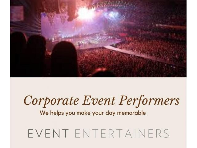 Hire musicians for wedding receptions from Event  Entertainers - 1