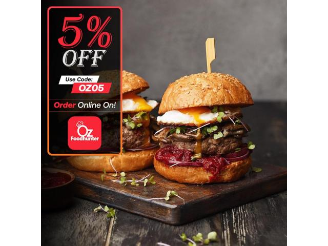 Get yummy Chicken dishes @ Angry Chicken - get 5% off - 3
