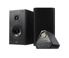 E-MU XM7 Bookshelf Speakers With Sound Blaster X7