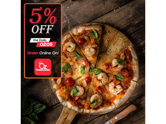 Get 5% off on your order @ Food Library - 2