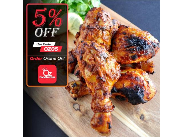 Get yummy Indian Food @ Top in Town Indian - get 5% off - 2