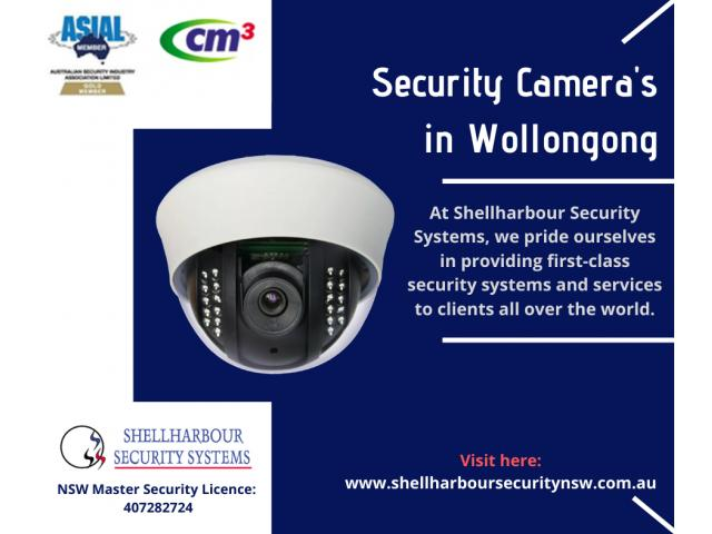 Security Cameras Installation in Wollongong | Shellharbour Security Systems - 1