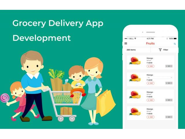 grocery app development company - 1