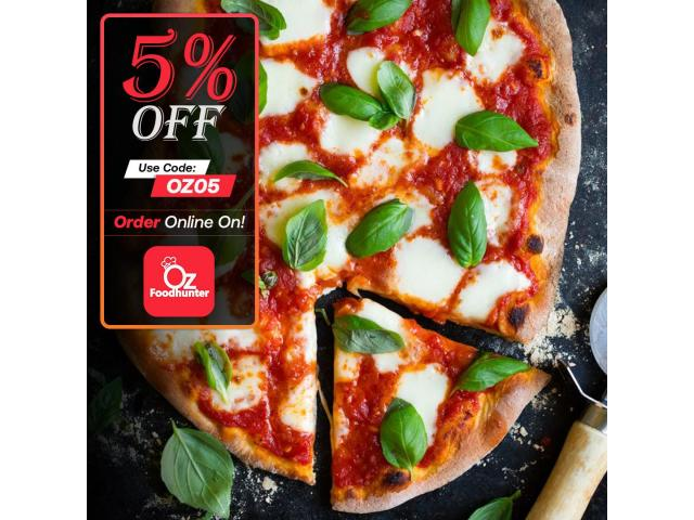Get 5% off on your order @ Arancini Pizza And Pasta - 1