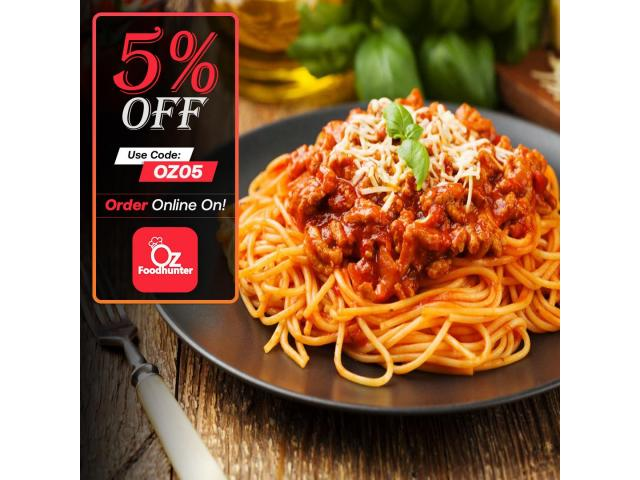 Get 5% off on your order @ Arancini Pizza And Pasta - 2