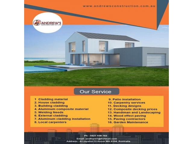 Get the Best Results in Carpentry services - 1