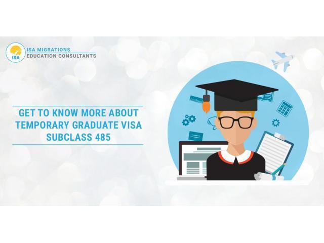 Visa 485 | Temporary Graduate Visa Subclass 485 - 1