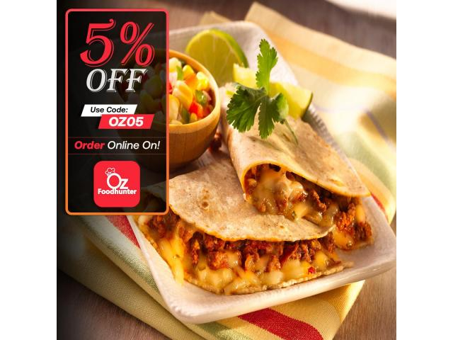 Get 5% off on your order @ Zambrero Newmarket - 3