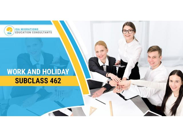 Apply For The Subclass 462 To Work In Australia - 1