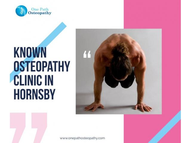 Known Osteopathy Clinic in Hornsby - 1