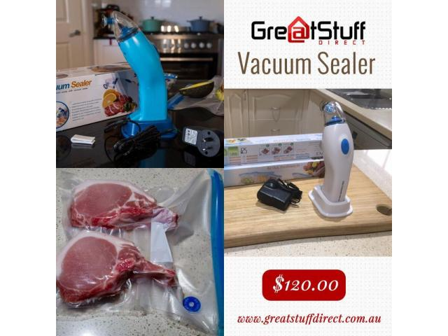Food Vacuum Sealer Machine in Australia - Great Stuff Direct - 1