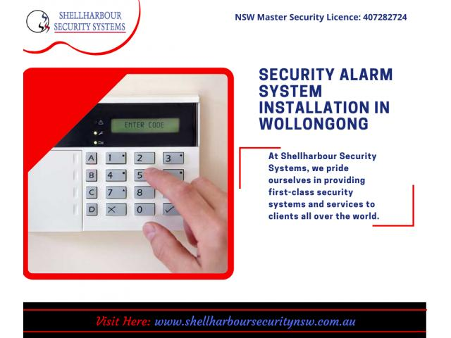 Home Alarm Systems Wollongong - Shellharbour Security Systems - 1