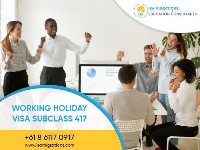 Get Working Holiday Visa 417   Migration Agent Perth - 1