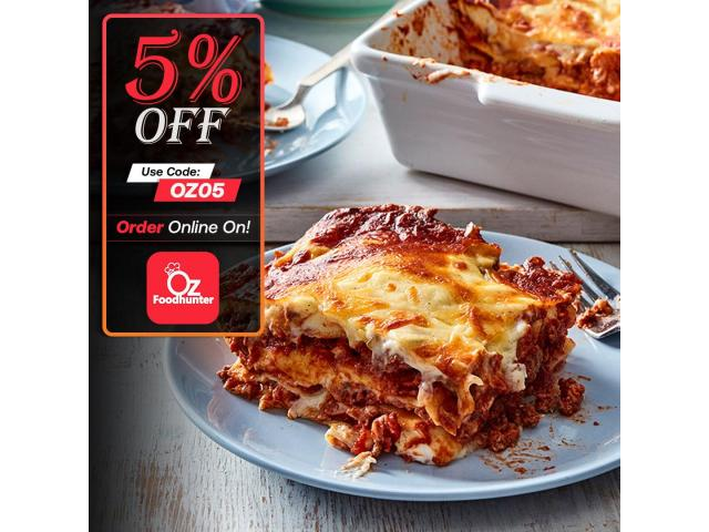 Get 5% off on your order @ Pasta Chef Reynella - 3