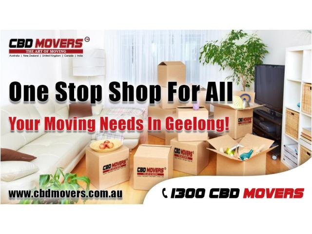 One-stop Removalist at Geelong - 2
