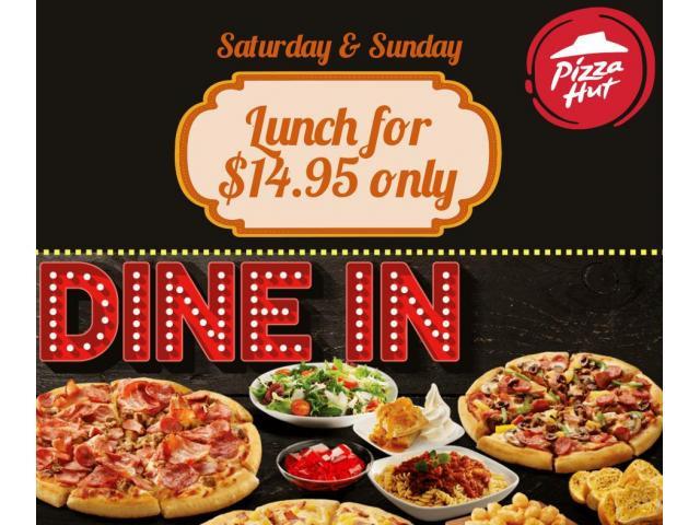 Pizza Hut Orange Saturday & Sunday Dine In Offres - 1