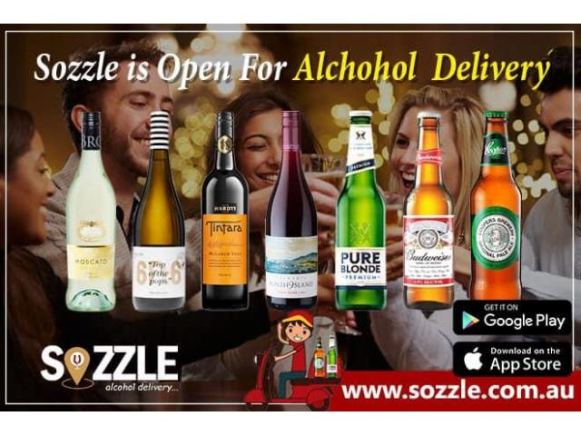 Beer | Wine | Vodka | Alcohol Delivery Northcote, Brunswick, Melbourne Vic|  Sozzle Alcohol Delivery - 1