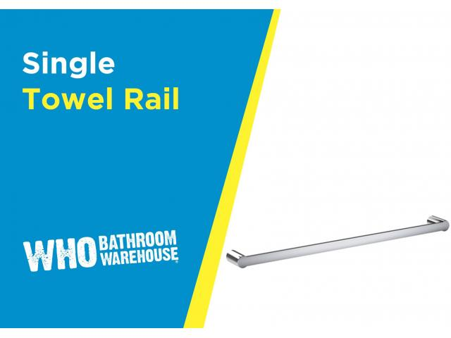 Buy Single Towel Rails At An Affordable Price - 1