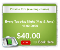 CPR Classes begin from May 2, 2017 –Classes to End June 27, 2017!