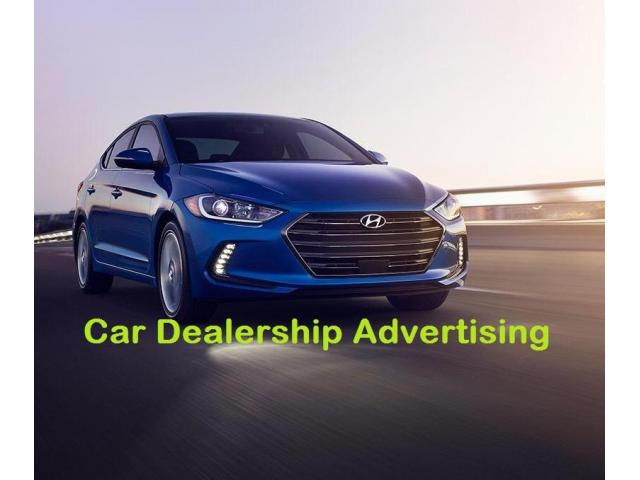 Finest Advertising Services for Car Dealership Companies - 1