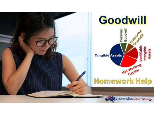 Accounting for Goodwill Homework Help - 1