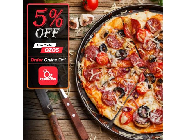 Try mouth - watering pizza with 25% off at Original Wood Oven Pizza Geelong - 2