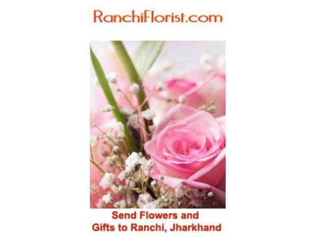 Order lovely Flower Bouquets Online for loved ones in Ranchi - 1